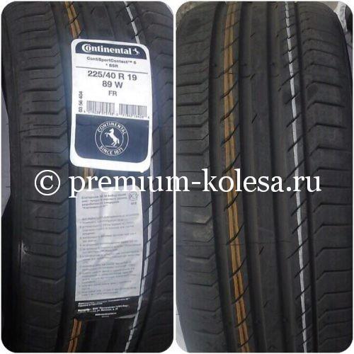 Летние разноширокие шины 22540 R19 25535 R19 Continenal ContiSportContact 5 на Mercedes-Benz W205, BMW F30