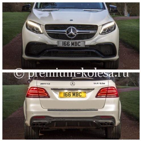 Обвес AMG63 на Mercedes-Benz GLE W166